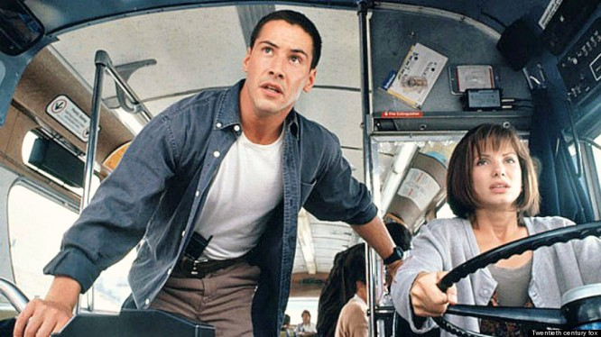 Image result for keanu reeves movies with bus